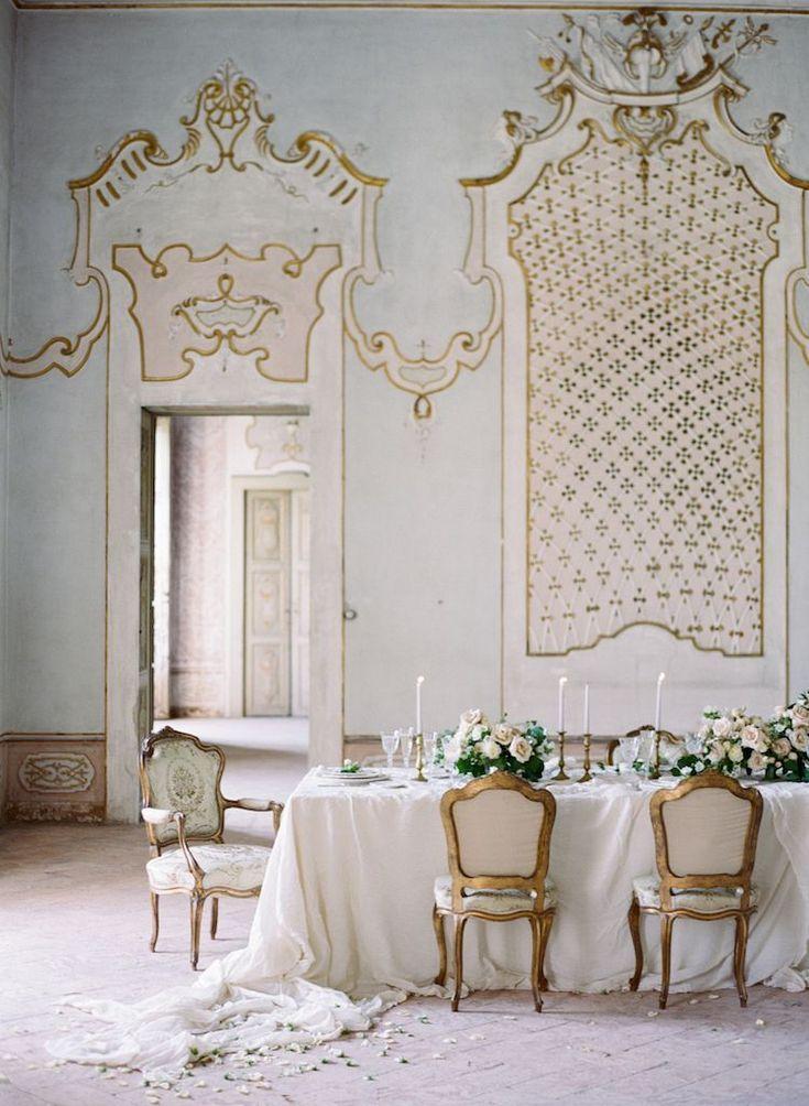 Luxurious and Elegant Italy Wedding Style. Beautiful ...
