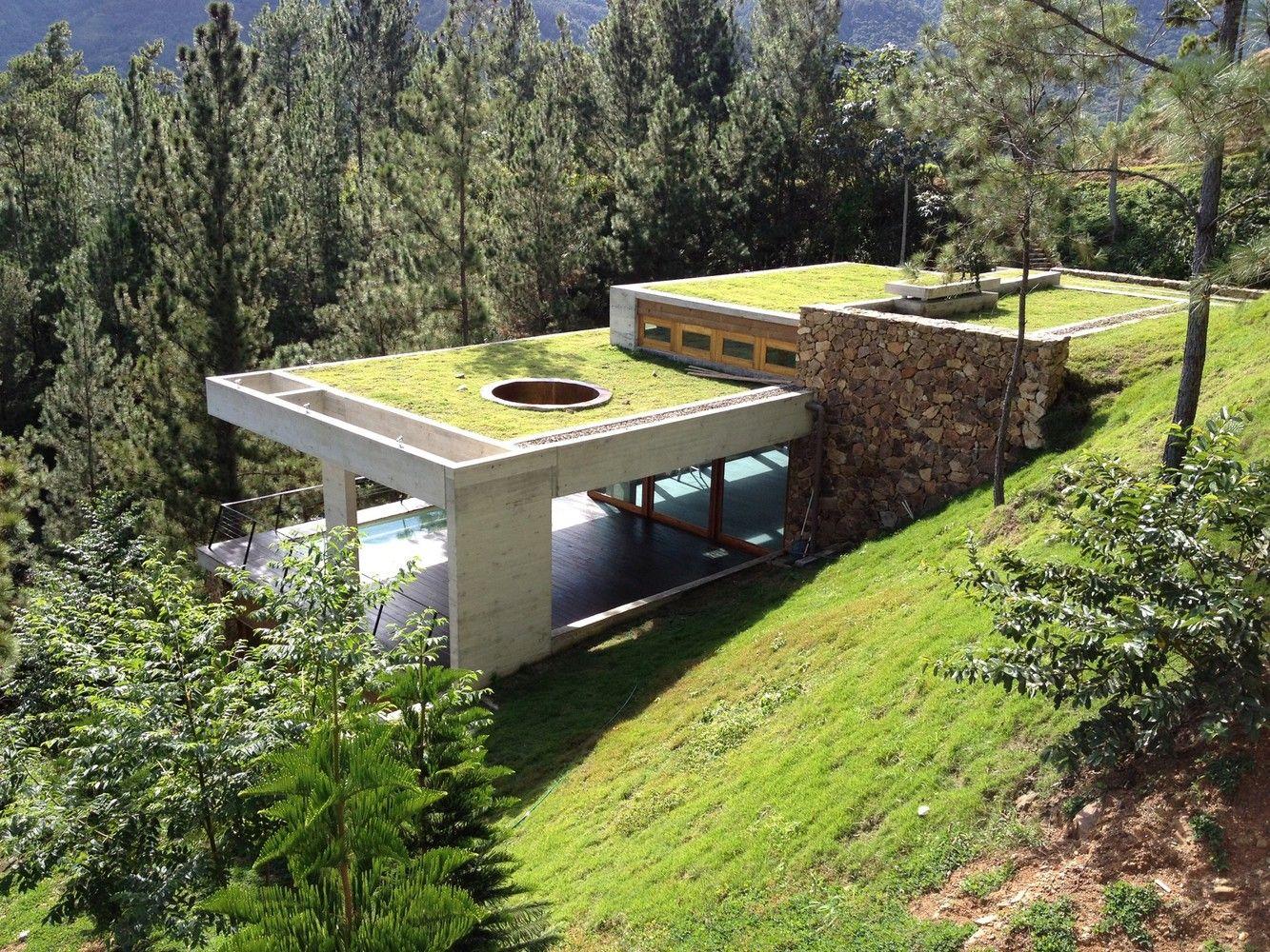Galer a de casa rd vasho 9 country houses pinterest for Casa minimalista guatemala