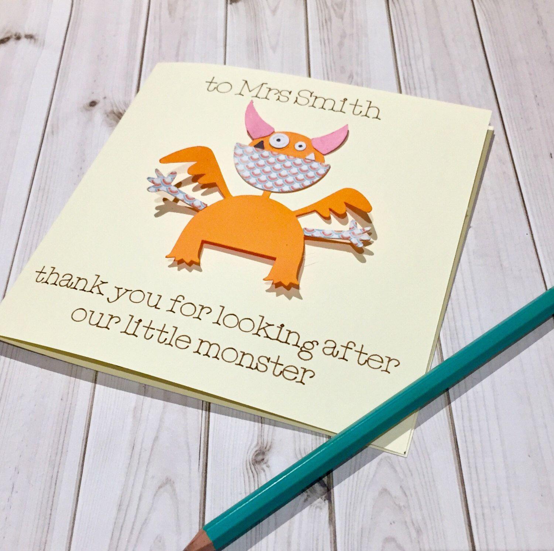 teacher Christmas card, Thankyou nursery teacher, thank you teacher ...