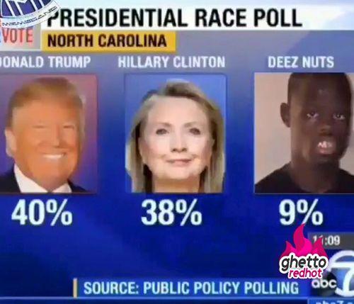 Hillary Vs Trump Funny Meme : Donald trump vs deez nuts funny pictures dank memes