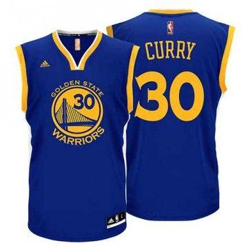 Golden State Warriors Maillot NBA Stephen Curry Adidas