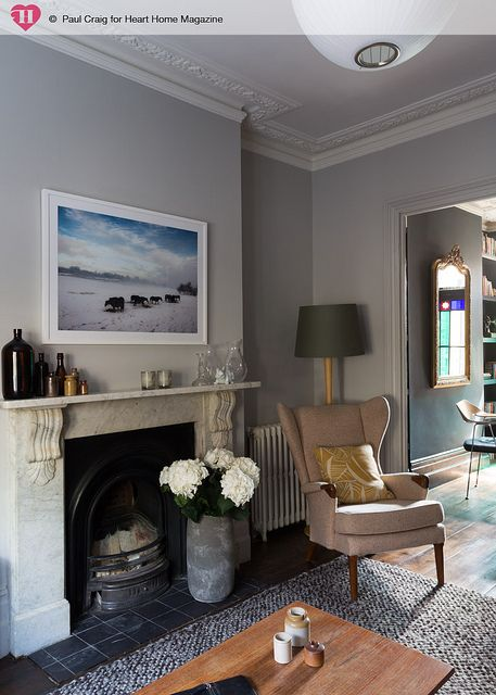 Treading The Boards House And Home Magazine Living Room Knock Through Victorian Living Room