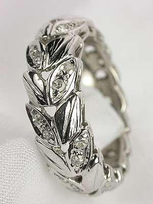 1940s Vintage Wedding Ring Rg 1557 Vintage Wedding Rings