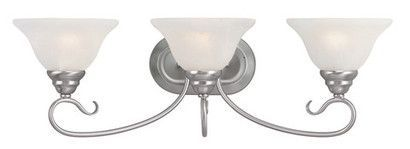 Livex Lighting 6103-91 Coronado Bath Light in Brushed Nickel