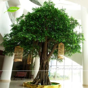 Gnw Btr024 Large Garden Decoration Fake Banyan Tree For Sale Artificial Plants Outdoor Artificial Tree Artificial Plant Wall