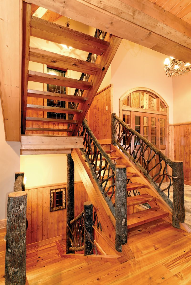 Taos luxury mountain home rustic house plans country for Luxury rustic home plans