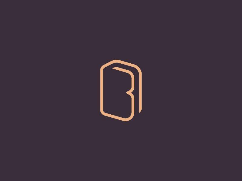 Bookstore logo / Letter B mark