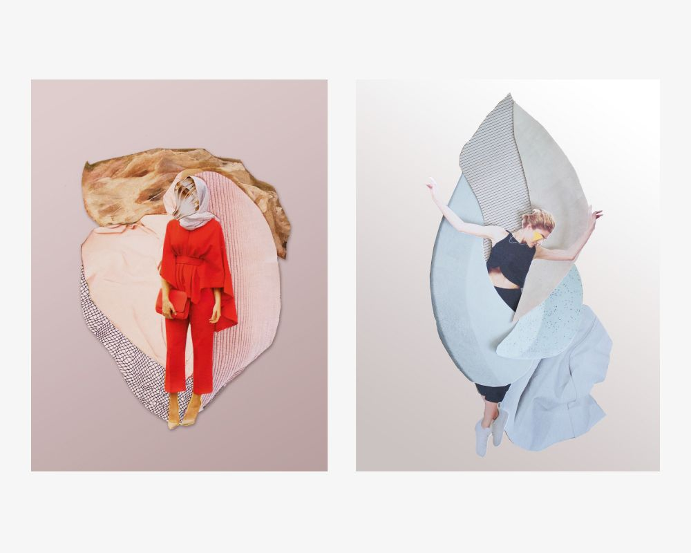 Collagen 16 : K A T // G R A F I K D E S I G N // Katrin Reidegeld – Grafik Design – Münster