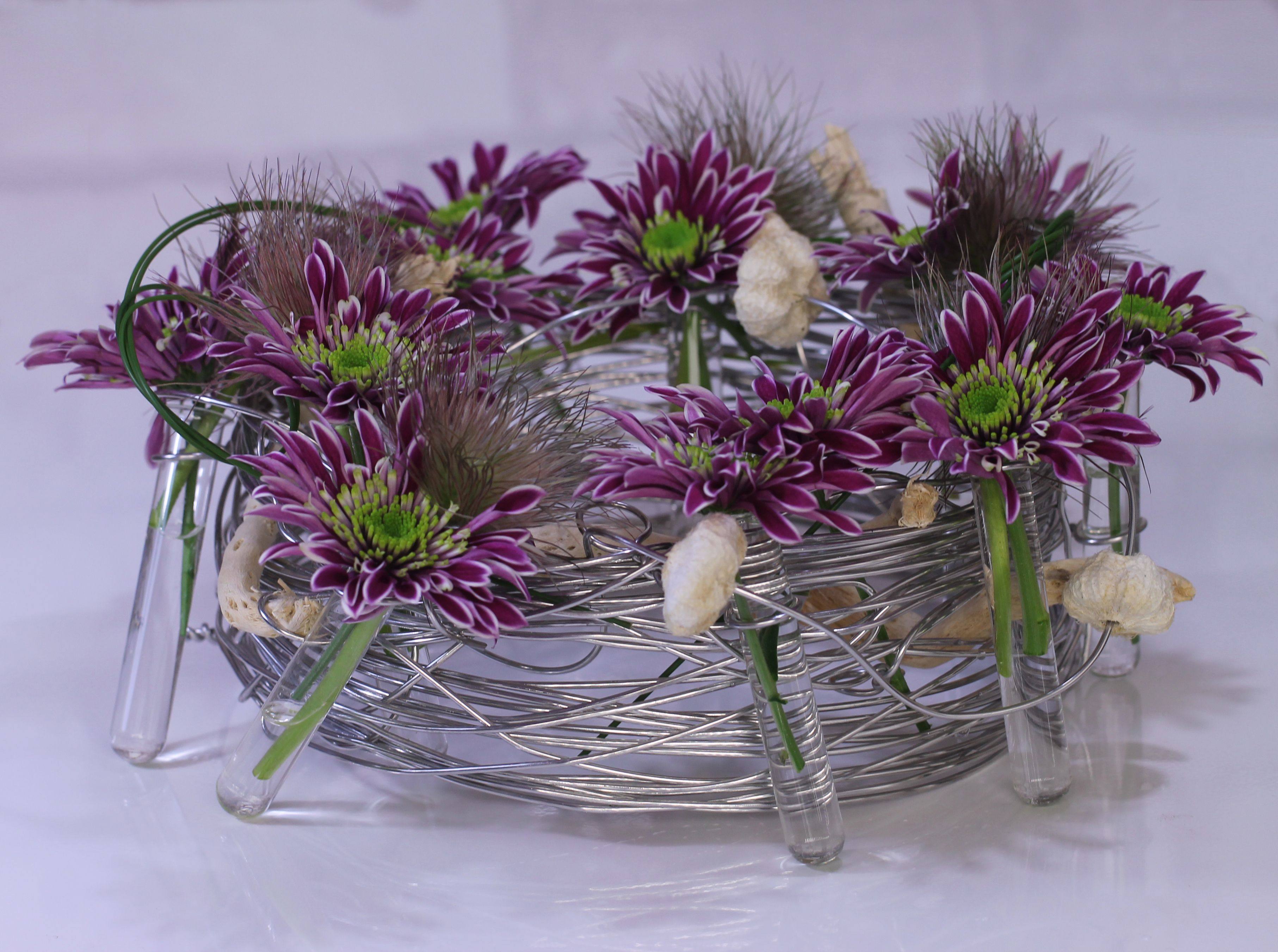 cool wire technique | Inspirational Chrysantemums ideas ...