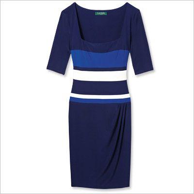 Spring Fashion Trends -- Stripes: Ralph Lauren Dress