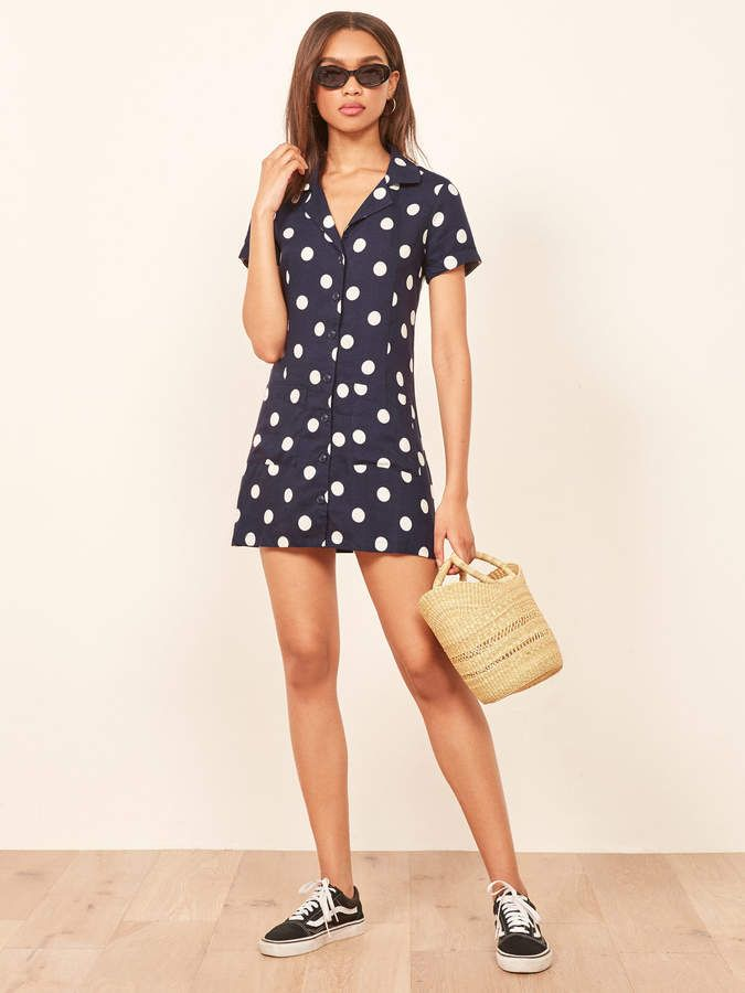 32445debcd87  affiliatead -- Reformation Plymouth Dress --  chic only  glamour always