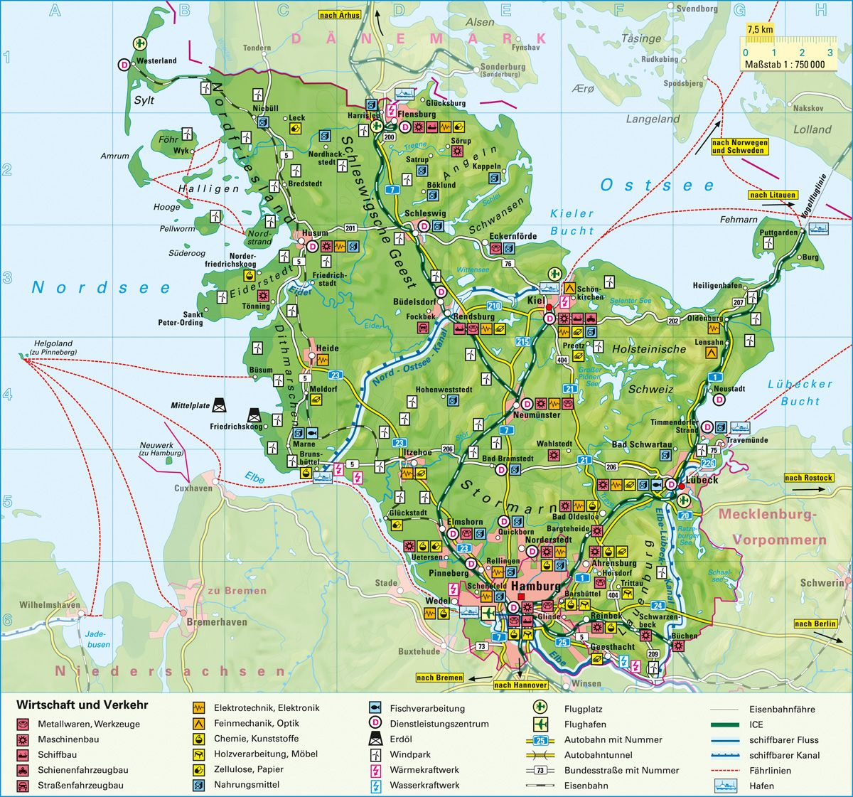 Schleswig Holstein Karte.Schleswig Holstein Karte Holstein Karte Schleswig Sleeswijk