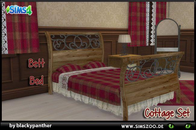 Pin von Dream auf The sims 4 cc (mit Bildern) | Bett ideen ...
