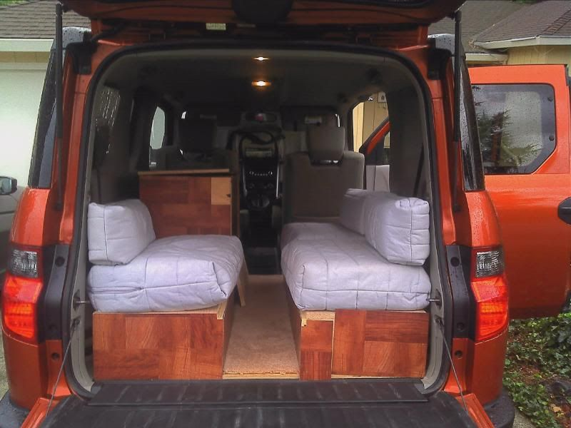 Honda Element Camper Conversion Kit Car Interior Design