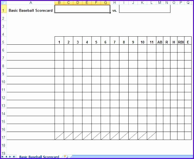 Baseball Lineup Card Template Excel Lovely 12 Baseball Lineup Excel Template Exceltemplates Card Template Baseball Card Template Card Templates Printable