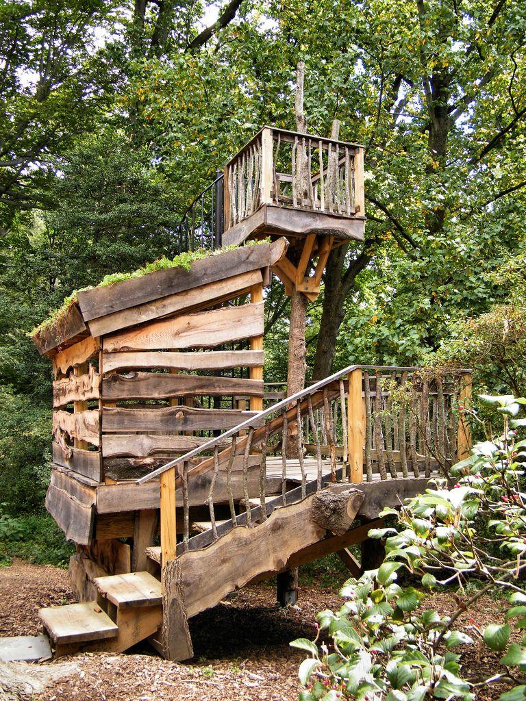 tyler arboretum treehouse - Google Search | Tree house ...