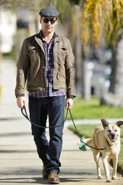 Jon Hamm Jon Hamm Celebrity Dogs Hamm