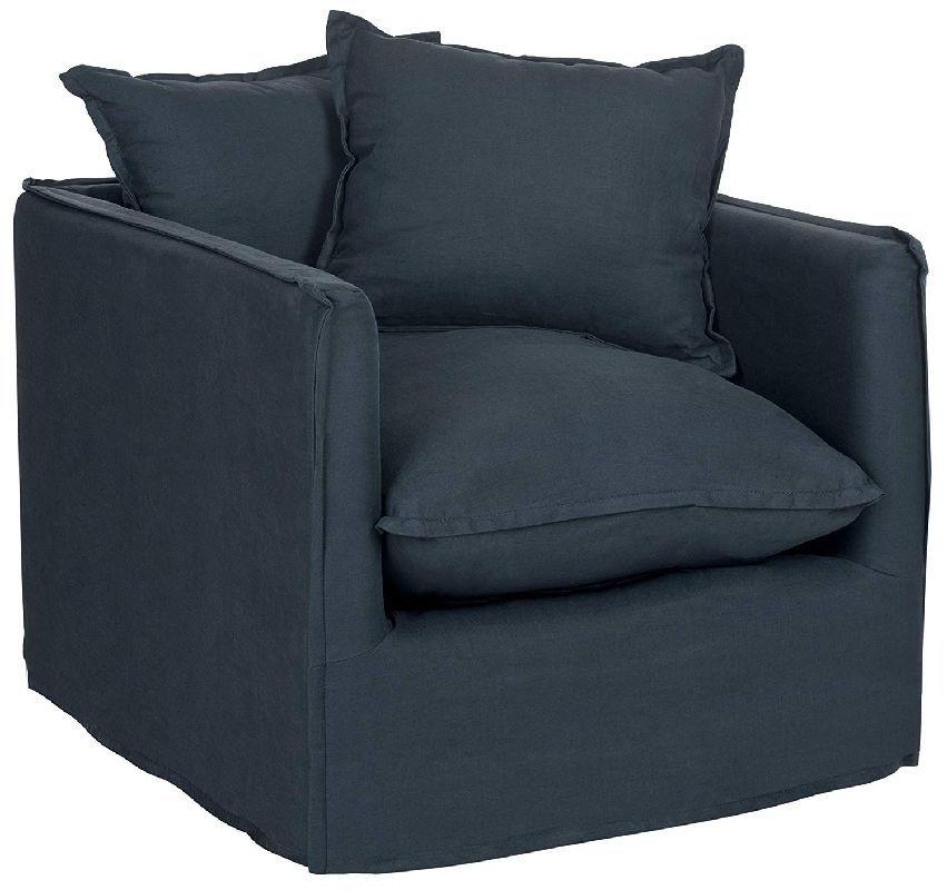 Sessel Adeline In Dunkelblau Von Safavieh In 2020 Sessel Kaufen Sessel Blaue Kissen