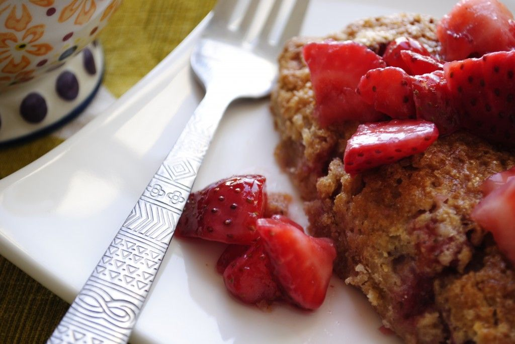 Whole Wheat Strawberry Scones - you can easily change up the fruit to whatever you'd like!