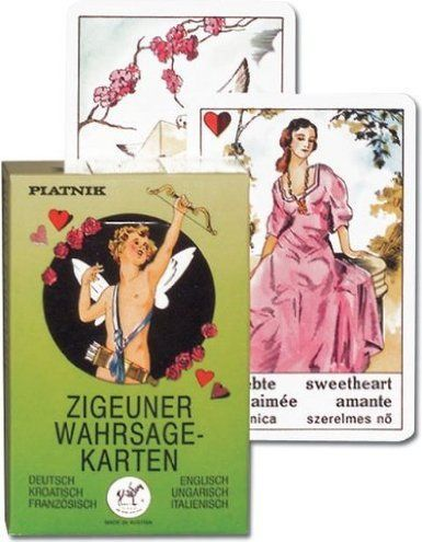 Zigeuner Gipsy Gypsy Fortune Telling Cards - EXCELLENT link to list