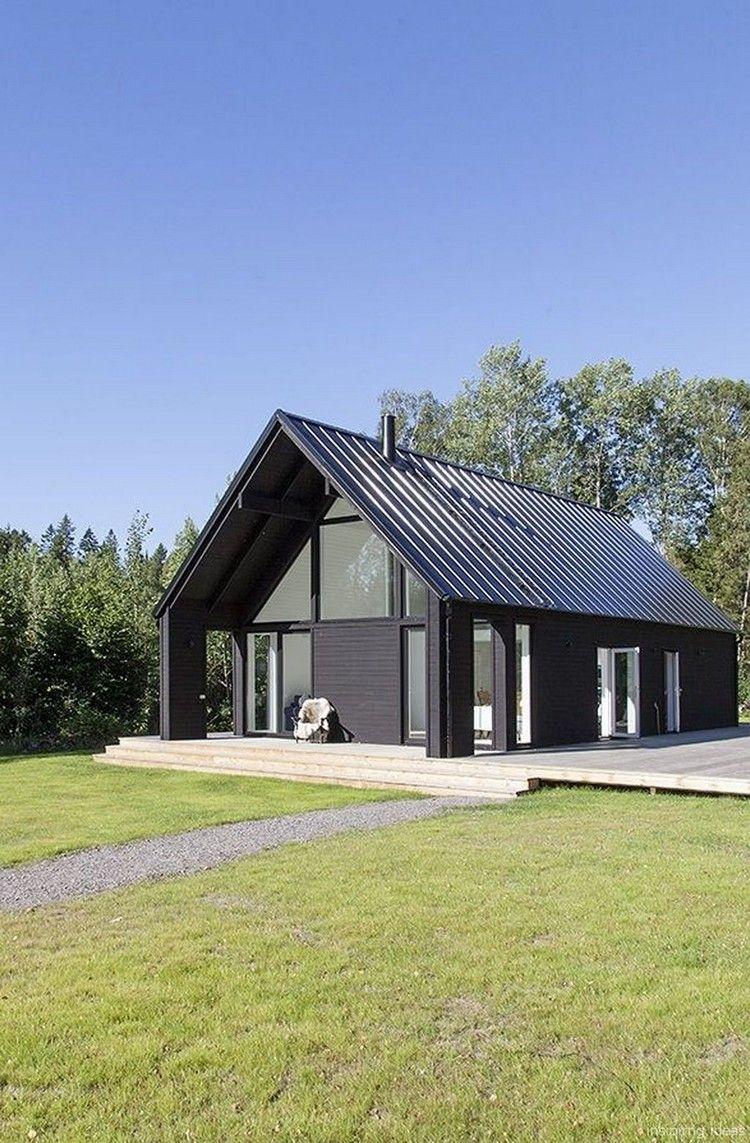 Minimalist Exterior House Design Ideas: 74+ Minimalist Modern Farmhouse Exterior Design Ideas