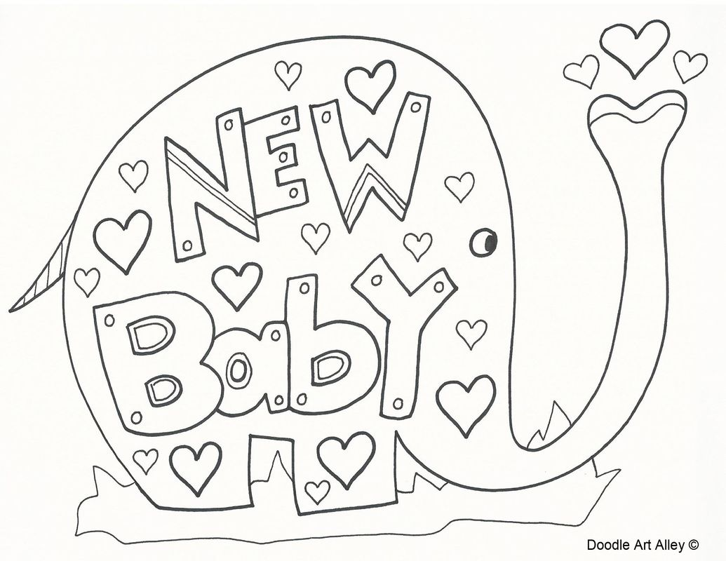Picture Baby coloring pages, Coloring pages, Doodle art