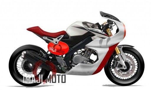 Modifikasi Yamaha Vixion Ala Cafe Racer