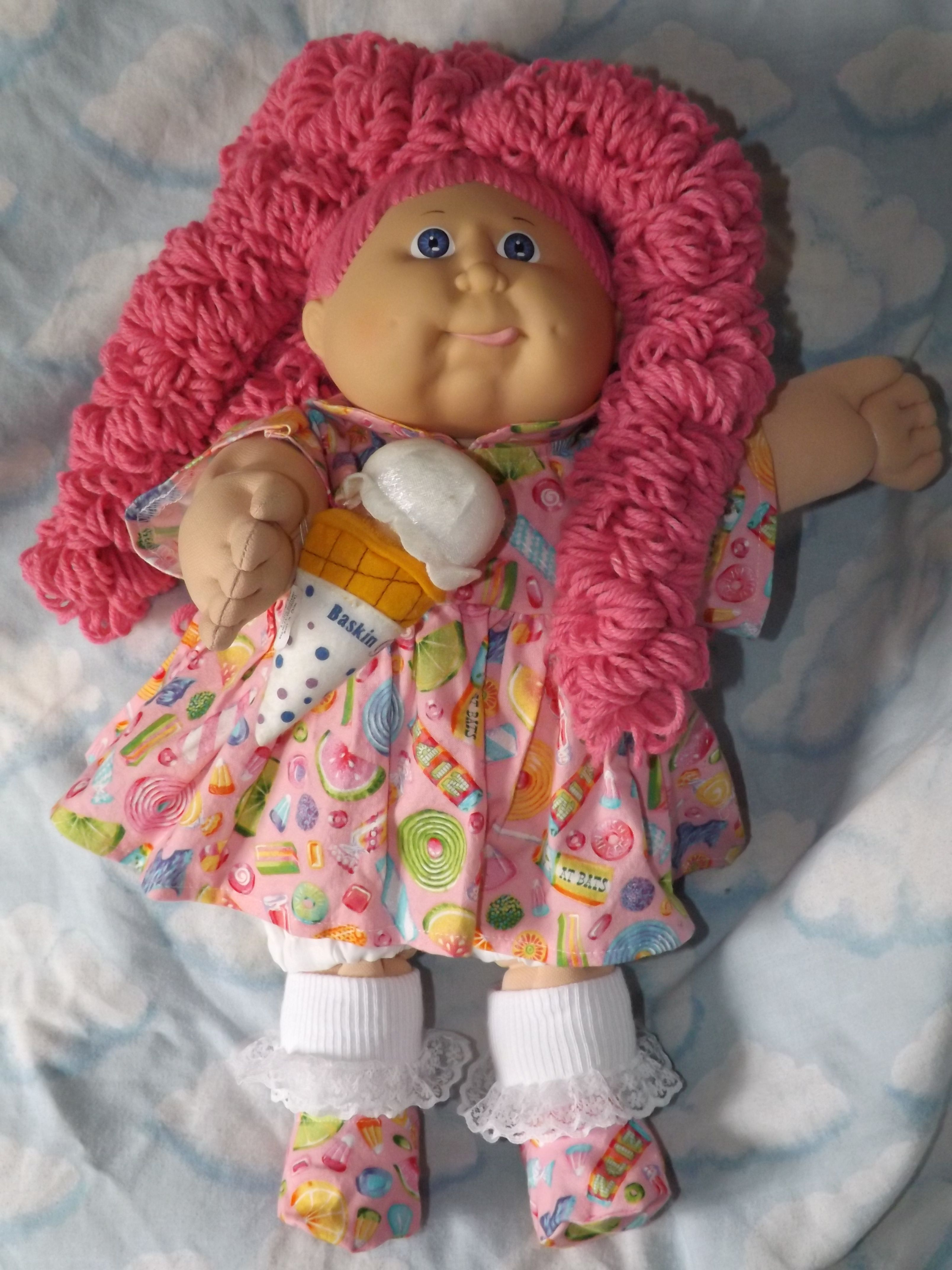 Pin By Suzie Sunshine Dalbeck On Cabbage Patch Kids Reroot Cabbage Patch Dolls Vintage Cabbage Patch Dolls Cabbage Patch Kids Dolls