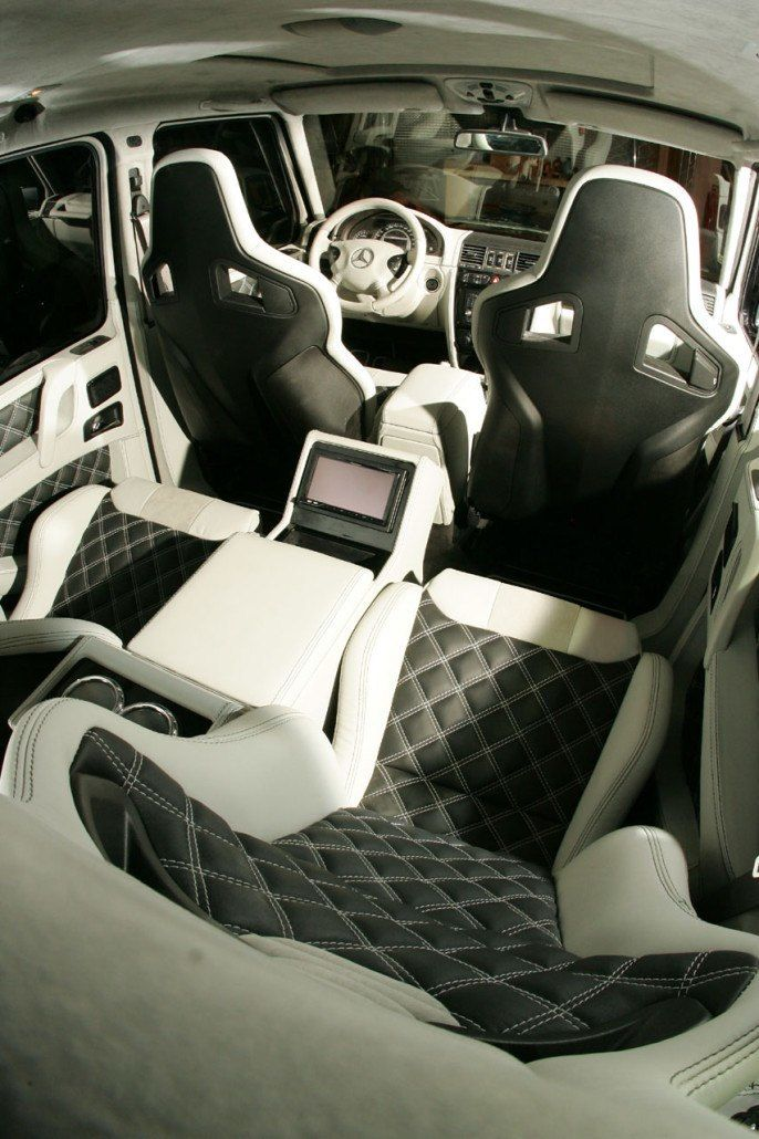 Black Leather Look Car Seat Covers Cover For Mercedes Benz G Class Wagon 2012 On