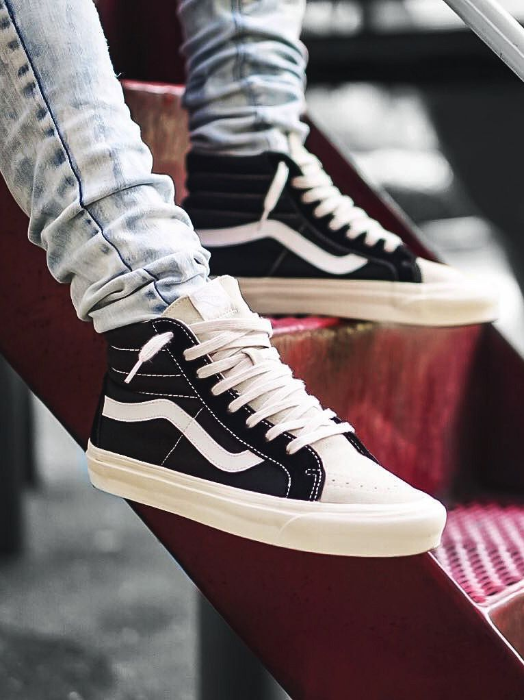 fear of god x vans sk8 hi