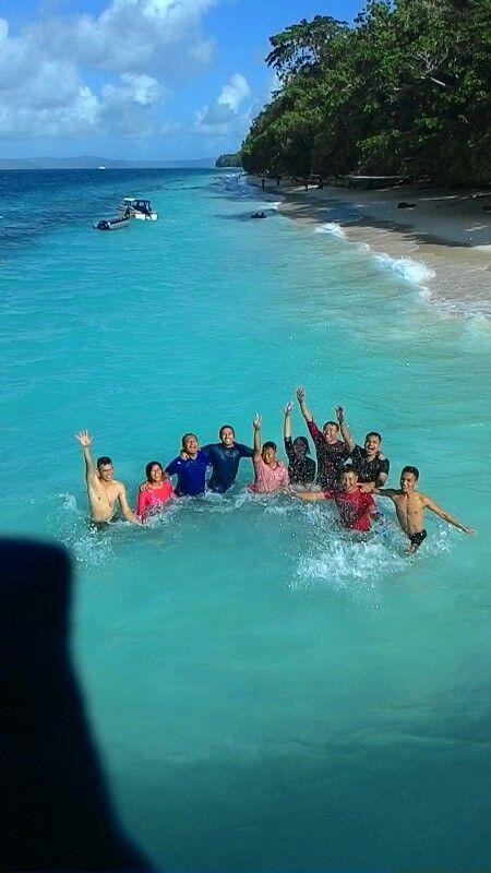 wonderfulls weekend liang beach ambon indonesia ryuki