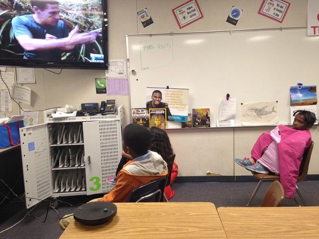 Improve interactivity and students' engagement in virtual field trips by using IPEVO VX-1 Internet Conference Station. See how teacher Nicholas does it. http://www.ipevo.com/vx-1