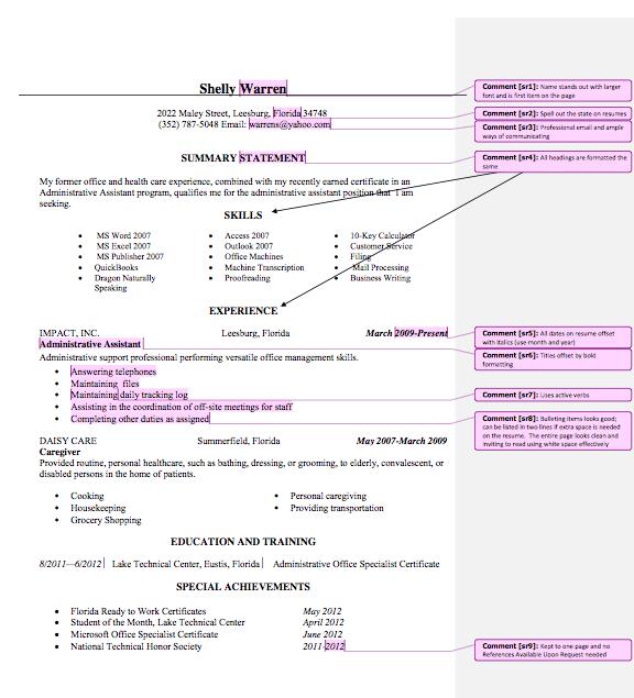 medical administrative assistant resume sample Administrative ...