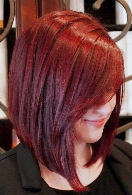 Te invito a que conozcas estas increíbles opciones de cabello corto pintado  en diferentes tonalidades de rojo 9613f495b346