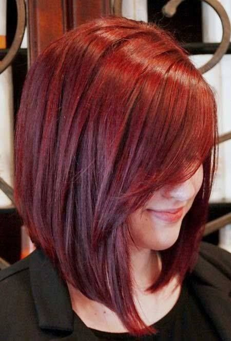 Cortes de cabello rojo corto