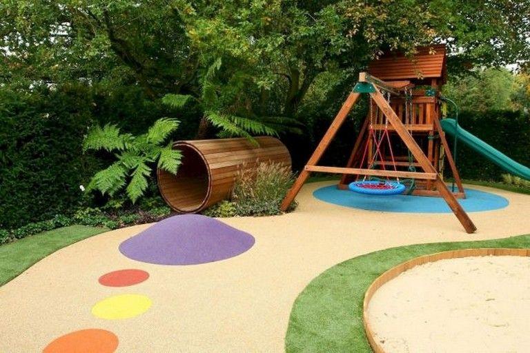 59 Wonderful Small Backyard Playground Landscaping Ideas ...
