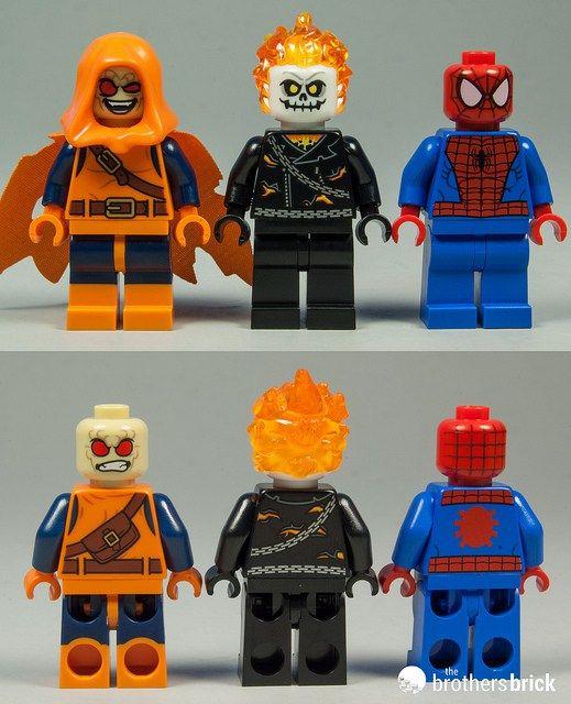 NEW LEGO HOBGOBLIN MINIFIG figure minifigure 76058 spider-man marvel villain