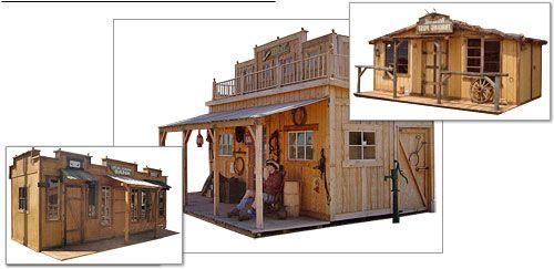 A Cowboy Shed Sheds Wood Storage Sheds Shed Shed Storage