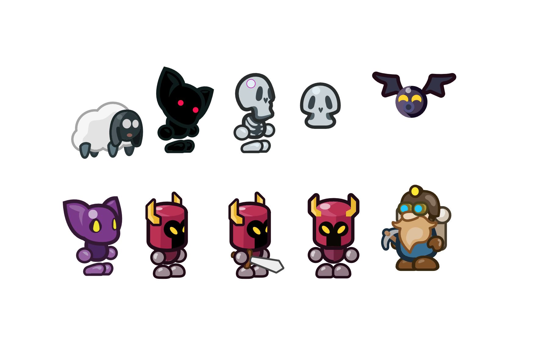 Minions Within A Dungeon Game Characters So Dar Game Design Game Development Game Gaming Indie Game
