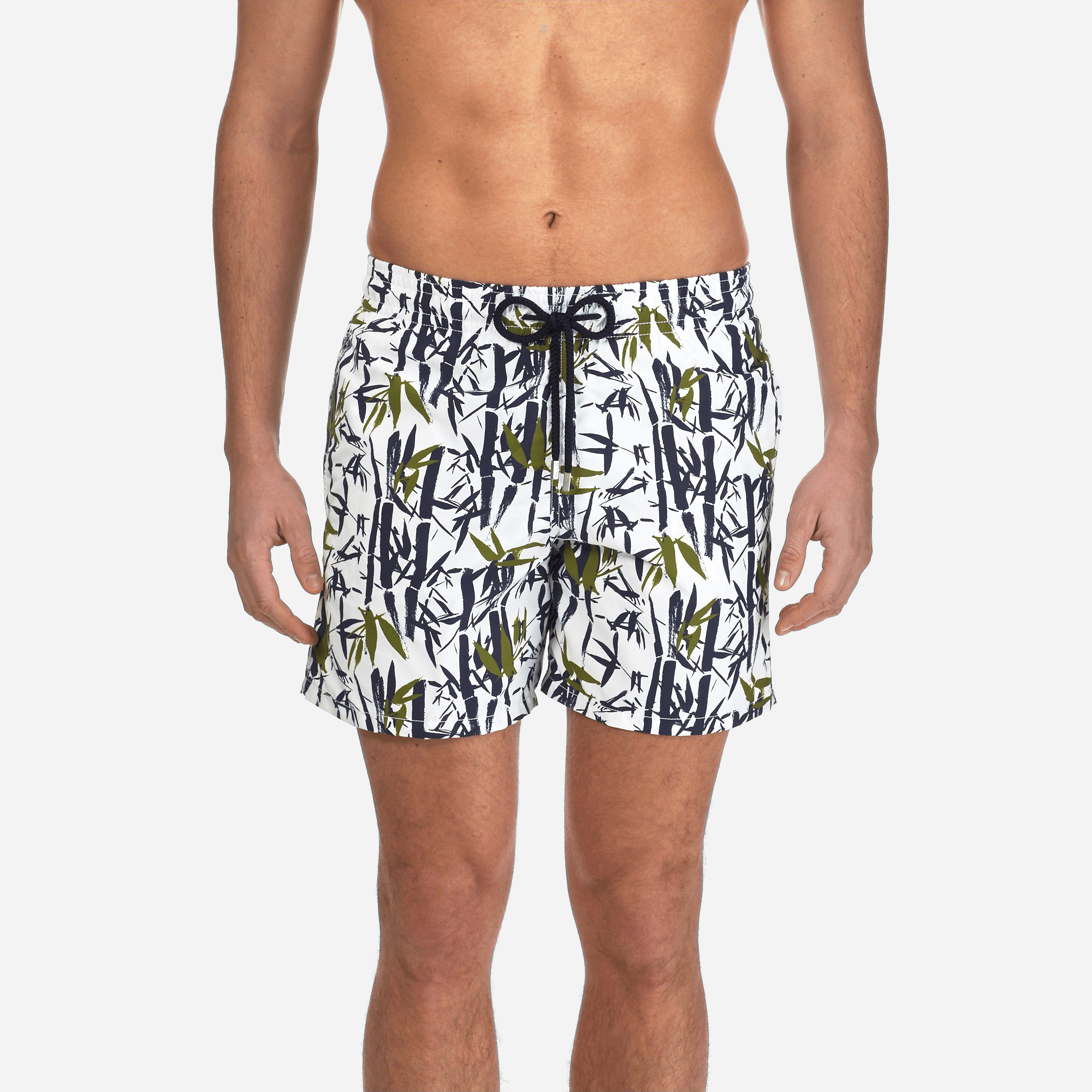 8c8b1246be Vilebrequin Men Swimtrunks Bamboo Song, Style: Moorea - White Xxxl ...