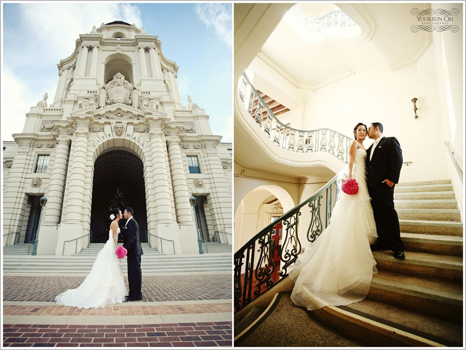 Cheap Wedding Dresses In Los Angeles: Pasadena City Hall, A Beautiful Building And Courtyard
