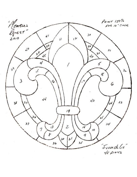 Free Celtic Stained Glass Patterns Free Patterns Celtic