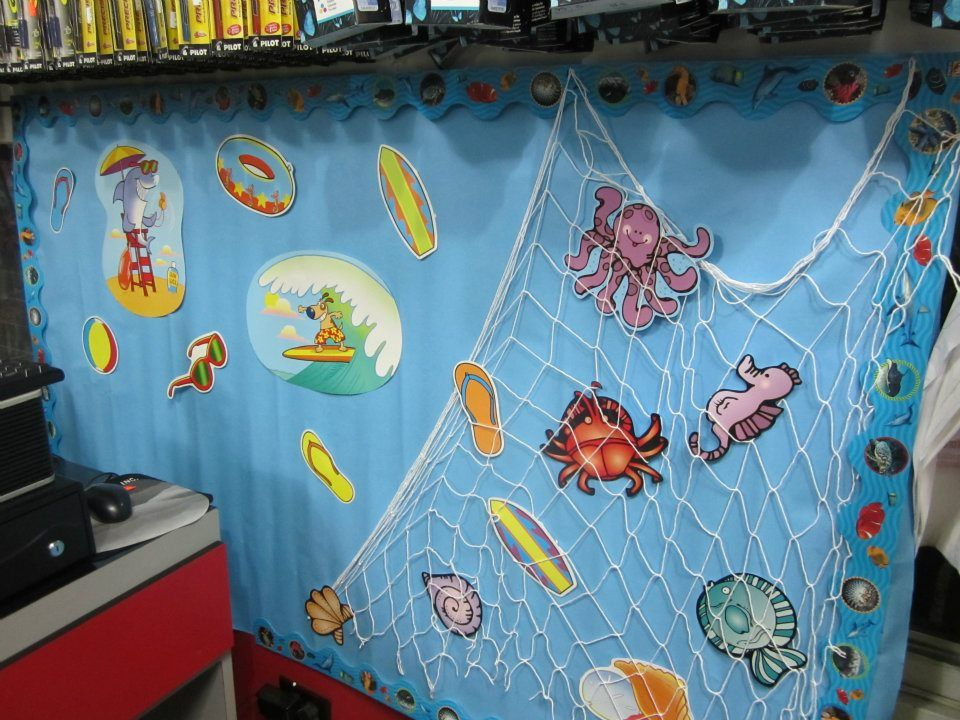 Classroom Decoration Ideas For Summer ~ Summer classroom decoration ideas