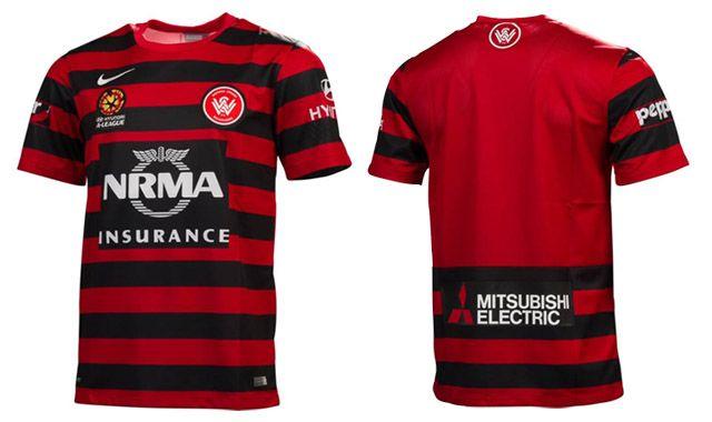 f21b421e72b Camisas do Western Sydney Wanderers 2014-2015 Nike | Football Shirts ...