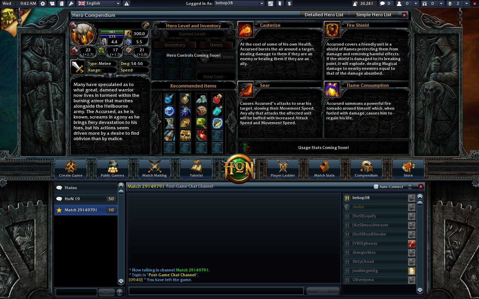 <게임 UI> Heroes of Newerth 2.0 : 네이버 블로그