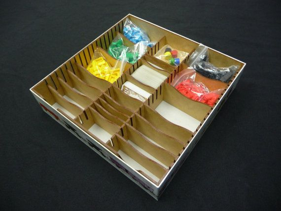 This Is A Box Organizer For The Popular Game Ticket To Ride Our