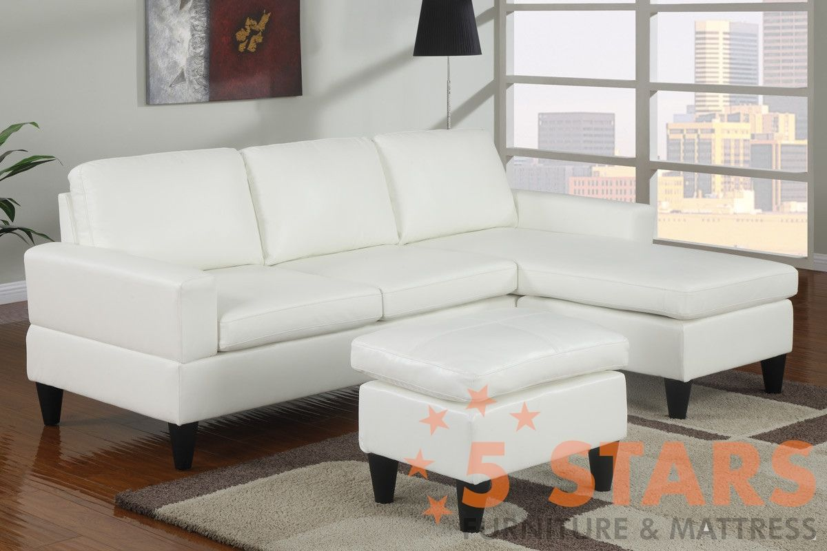 ALL-IN-ONE SECTIONAL ESPRESSO FAUX LEATHER