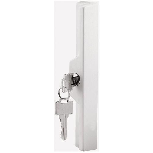 Prime Line Adjustable White Diecast Outside Pull With Key Rona Door Handles Mortise Lock Wall Lights