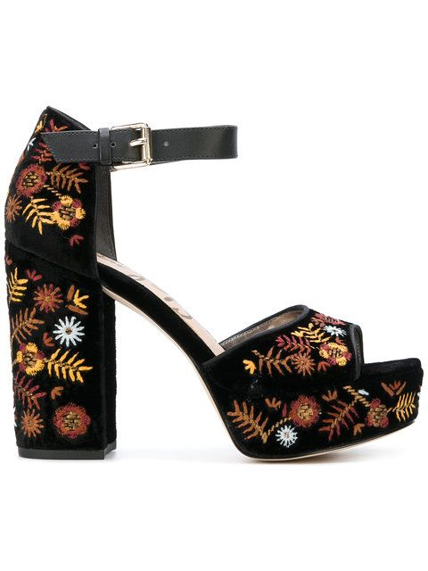 273dd46bead6 SAM EDELMAN Marsha embroidered sandals.  samedelman  shoes