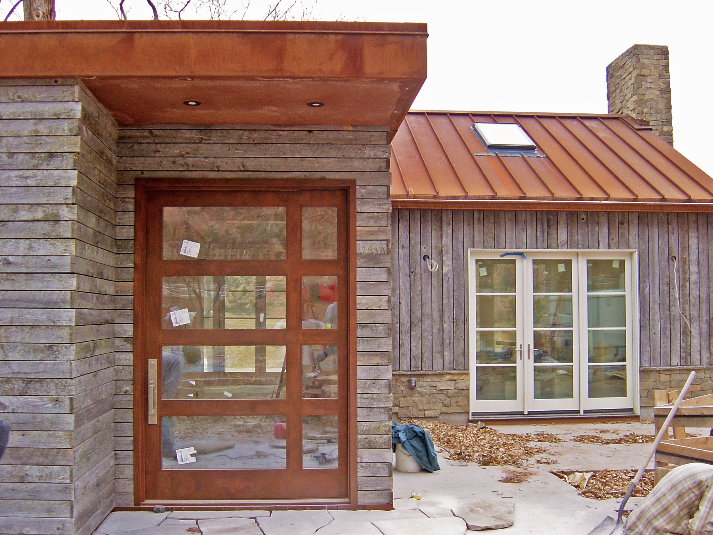Reclaimed Wood On The Western Slope Reclaimed Wood Siding Wood Siding Exterior Wood Siding